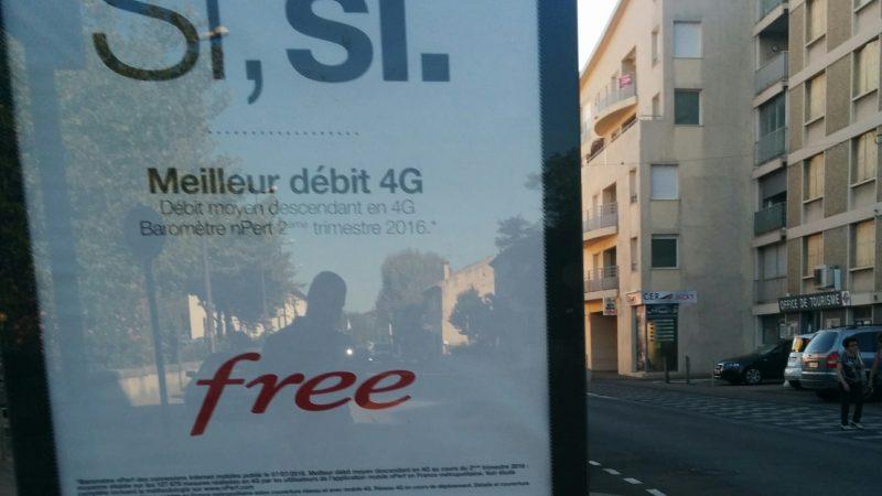 Free Mobile lance une nouvelle campagne de pub sur ses performances en 4G