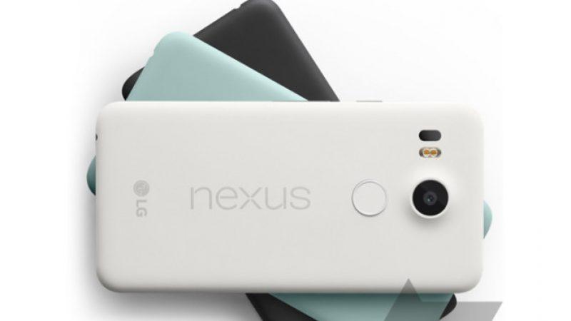 Les nouveaux Nexus 5X et Nexus 6P en fuite sur la toile