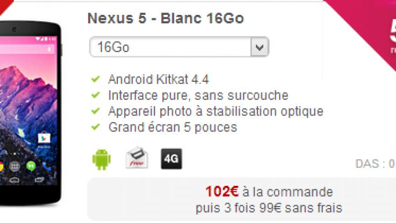 Pourquoi le Nexus 5 ne gère pas le Free Wifi Secure