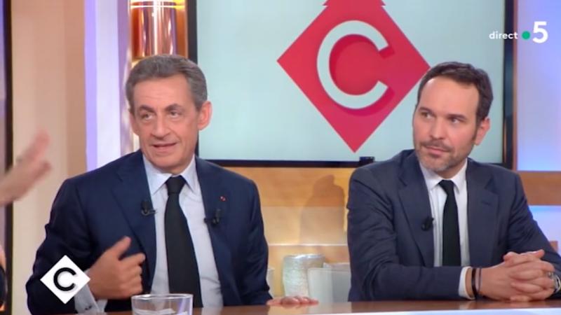 """Le lapsus énorme d'Anne-Elizabeth Lemoine à propos de Nicolas Sarkozy sur """"C à vous"""""""