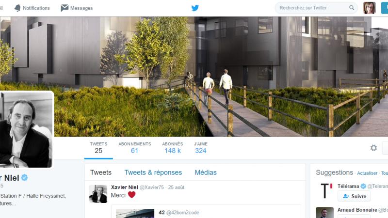 Xavier Niel est le patron le plus suivi sur Twitter, devant Stéphane Richard