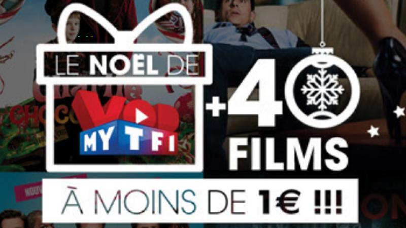 Vidéo Club Freebox : MYTF1 VOD va proposer des films à moins de 1€ pour Noël