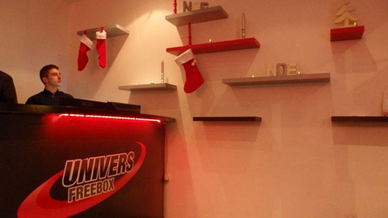 Clin d'œil : chez Univers Freebox aussi on prépare Noël