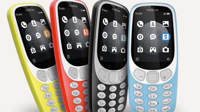 Le Nokia 3310 se met à la 3G