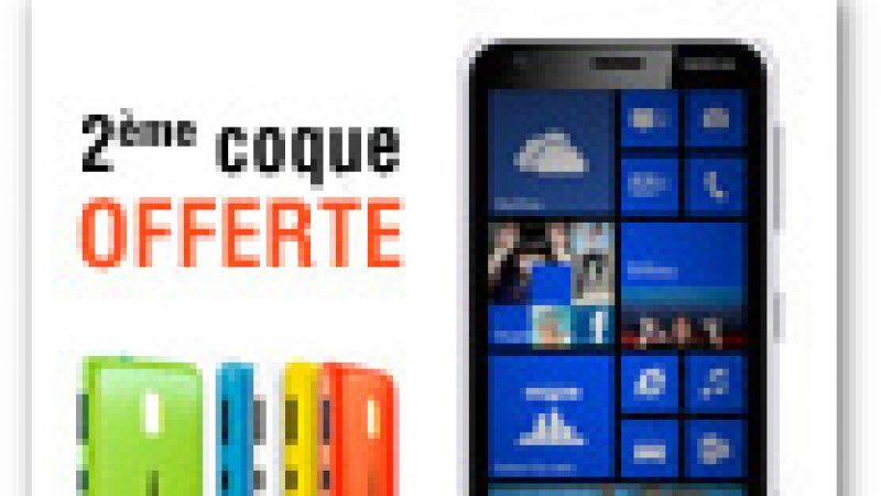 Une deuxième coque offerte avec le nokia lumia 620 en exclusivité chez Free Mobile