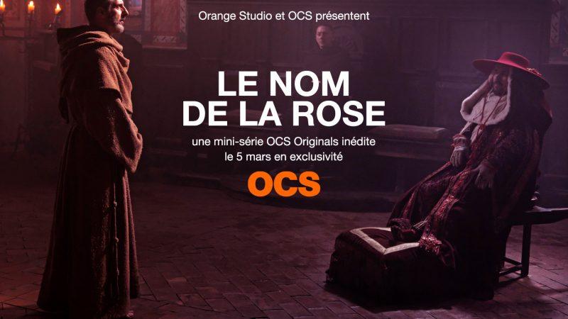 """Le nom de la Rose, la première série """"OCS Originals"""" disponible le 5 mars en exclusivité sur OCS"""