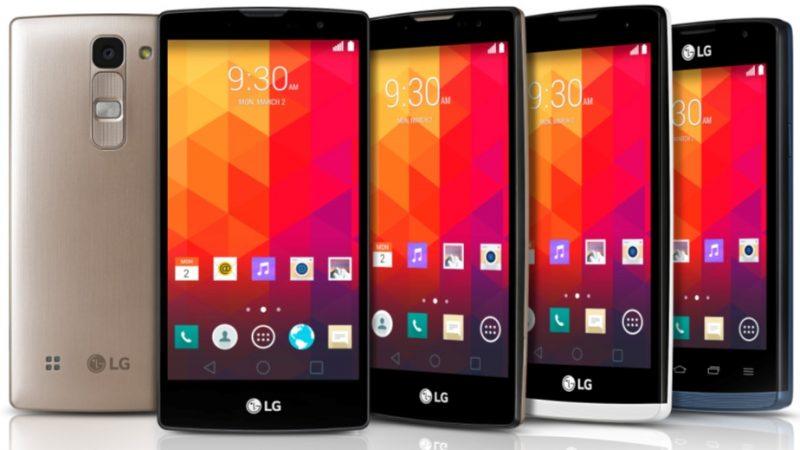 LG présente 4 nouveaux mobiles milieu de gamme