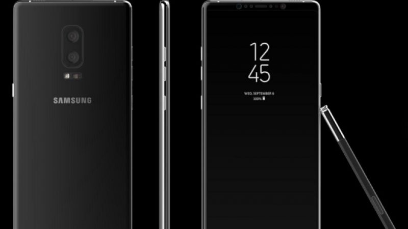 Samsung Galaxy Note 8 : Un prix a enfin fuité