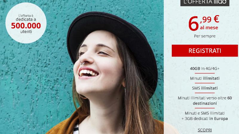 Iliad lance un nouveau forfait en Italie avec 40Go pour 6,99€/mois