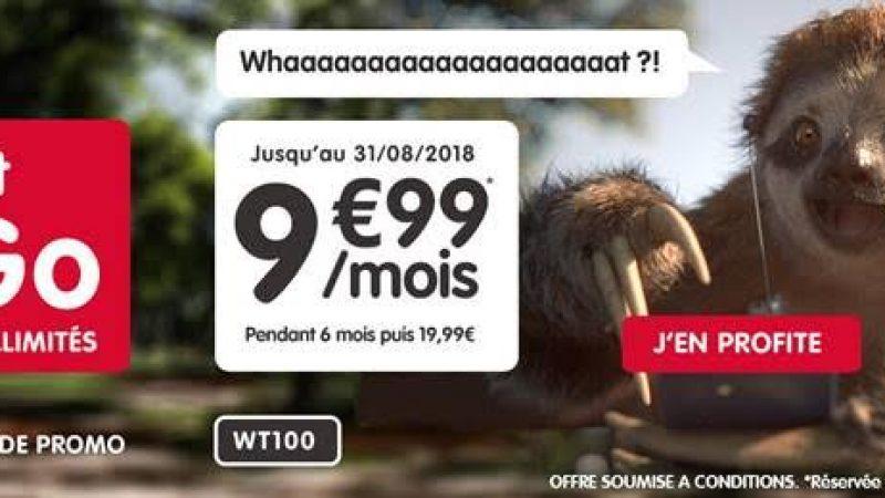 NRJ Mobile lance une nouvelle promo, avec un forfait 100Go à 9,99€/mois mais uniquement durant 6 mois