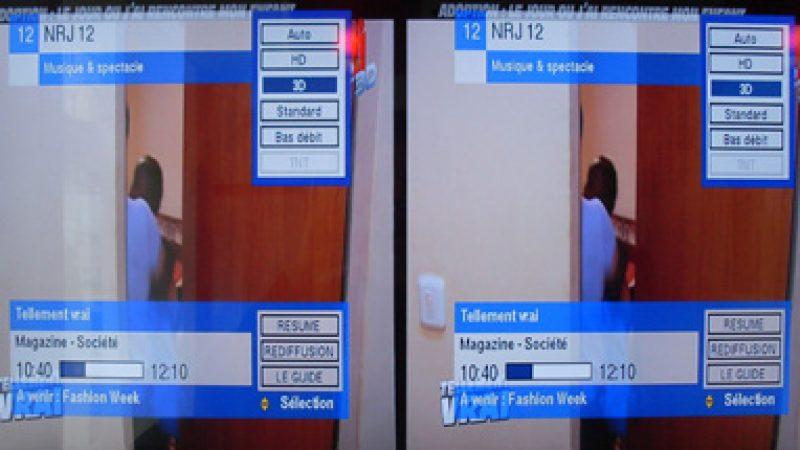 Freebox TV : NRJ 12 3D est lancée