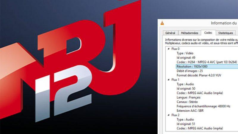 NRJ 12 passe en full HD 1920×1080 sur Freebox TV
