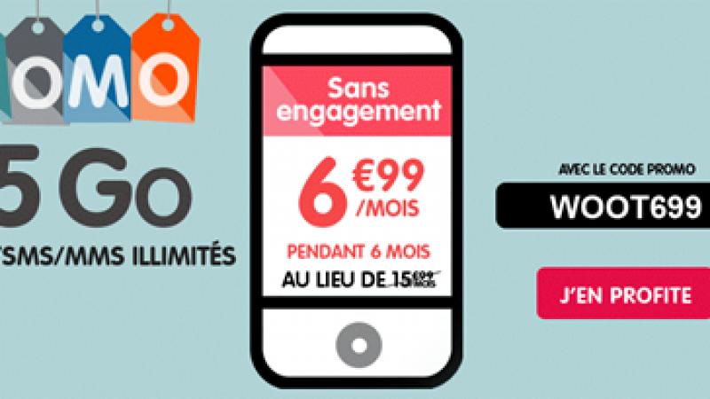 NRJ Mobile lance une nouvelle offre promo sur son forfait 5Go