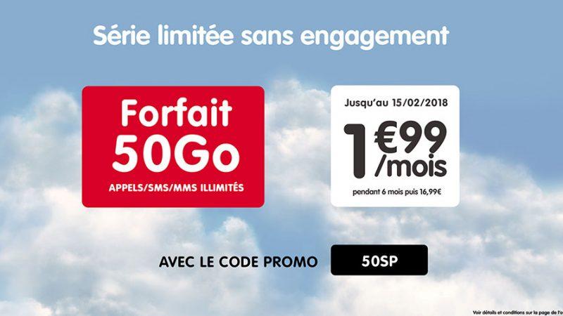 NRJ Mobile lance une offre sur Showroom Privé à 1,99€/mois pendant 6 mois