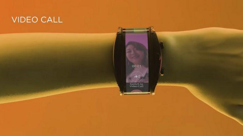 Nubia Alpha : le smartphone à écran souple qui se porte au poignet
