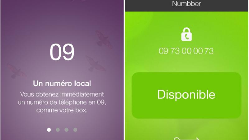 Numbber : une carte SIM virtuelle avec un 2ème numéro en 09