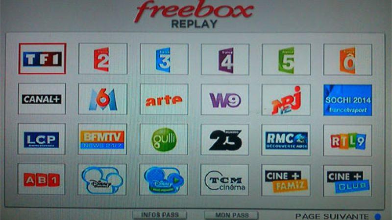 Freebox Replay : Numéro 23 est disponible, ce qui porte à 47 le nombre de services de rattrapage chez Free