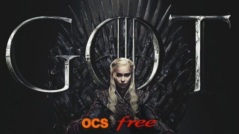 Free propose un concours à ses abonnés pour pouvoir assister au lancement de la dernière saison de Game Of Thrones sur grand écran