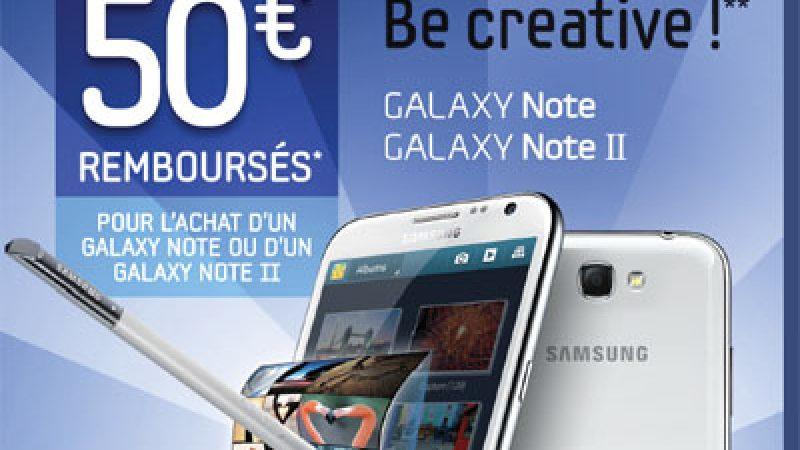 Free Mobile : Une offre de remboursement pour les Galaxy Note 2 et Ace