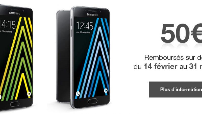 Free propose deux nouvelles ODR pour les Samsung Galaxy A3 et A5 (version 2016)