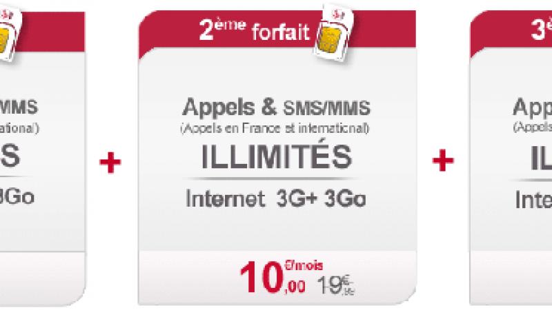 Virgin Mobile fait mieux que Free ? 10 euros par mois dès le 2ème forfait !