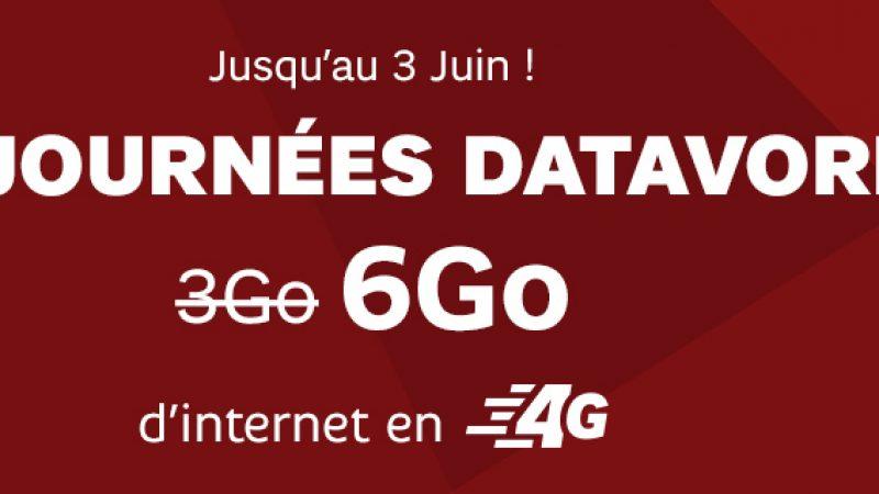 RED by SFR prolonge ses  « Journées Datavores »