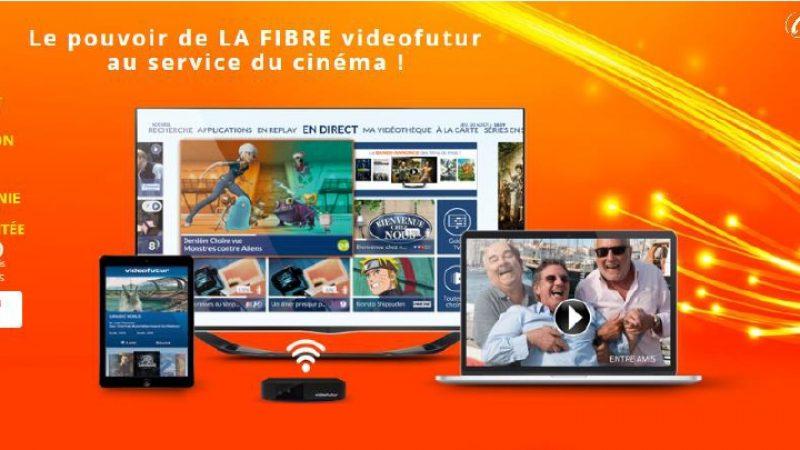 Videofutur lance une offre Fibre avec de la VOD en illimité pour 39.90€/mois
