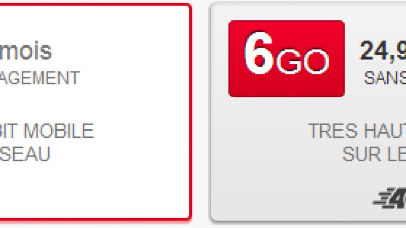 SFR s'attaque au marché des tablettes : 14,99 € pour 3Go / 24,99 pour 6 Go.