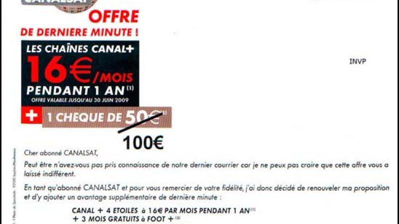 Canal+ à moins de 8€ /mois pour les freenautes abonnés à Canalsat