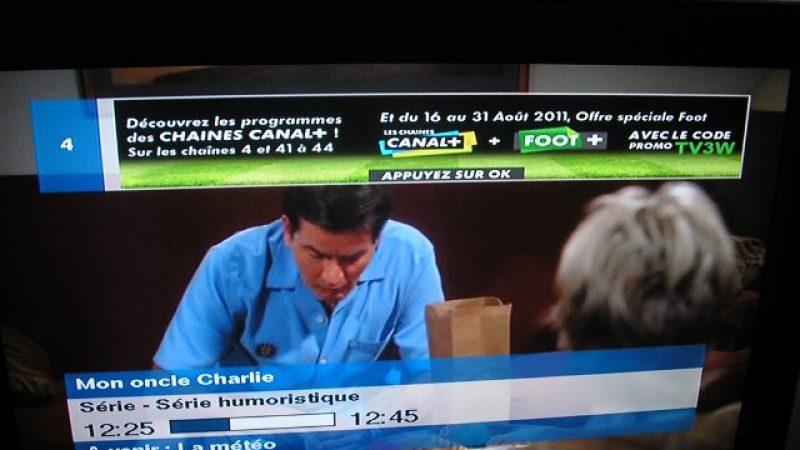 Offre spéciale Canal+ via la Freebox, du 16 au 31 aout