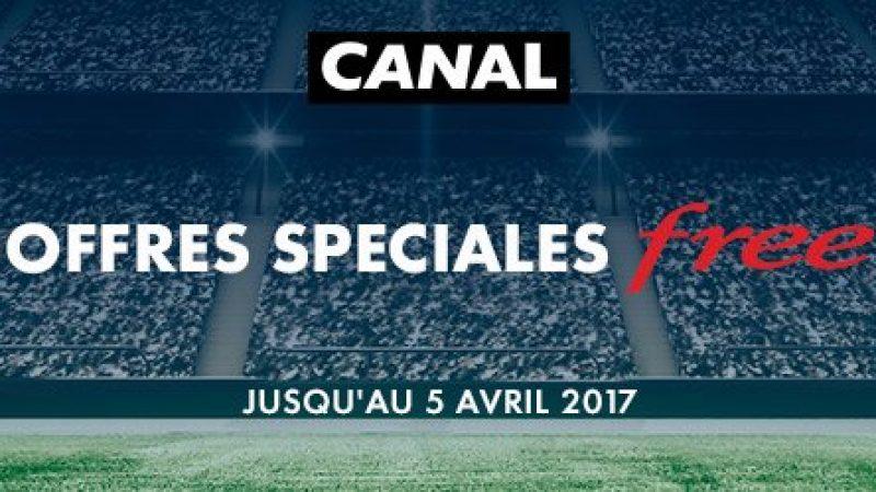"""Canal lance une """"offre sport"""" spécialement pour les abonnés Free"""