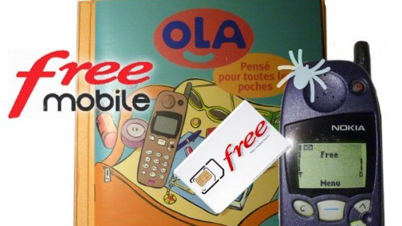 Clin d'œil : la mode des téléphones vintages testée avec Free Mobile