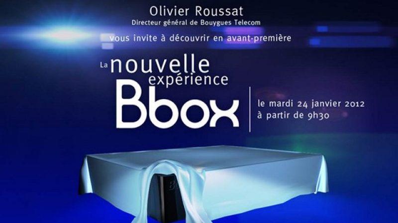 La nouvelle Bbox sera dévoilée le 24 janvier prochain