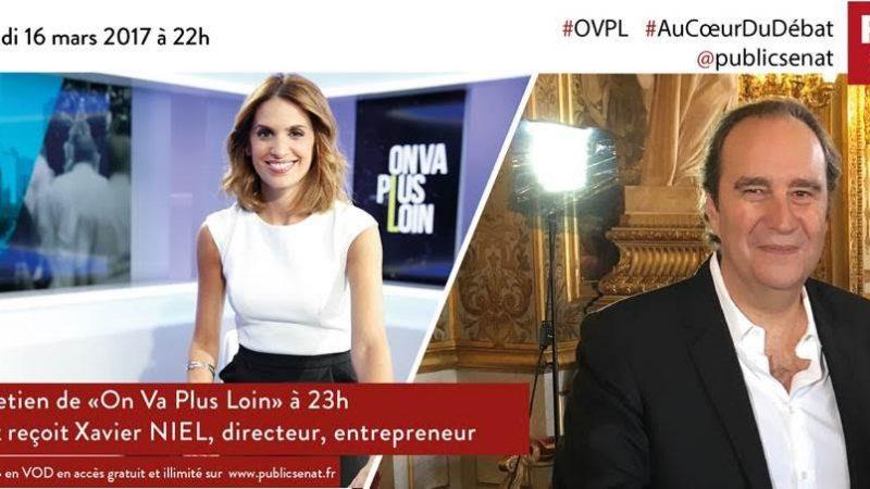 Xavier Niel fait son « grand Entretien » ce soir sur Public Sénat