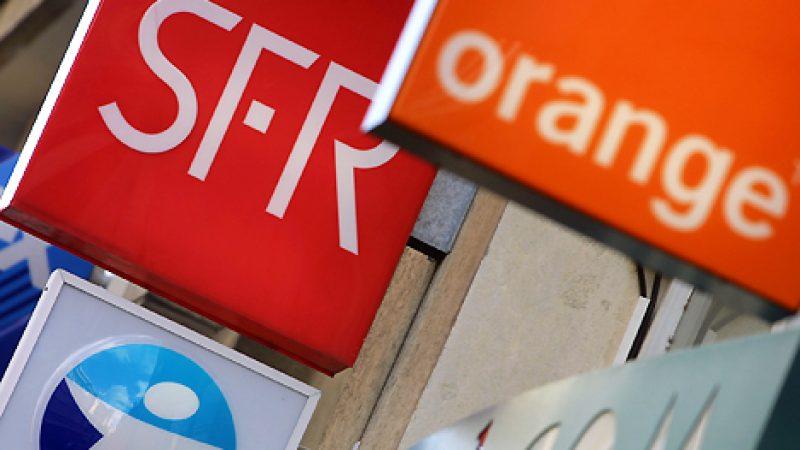 Comparatif du nombre d'abonnés à un forfait mobile : Free sur le point de rattraper SFR