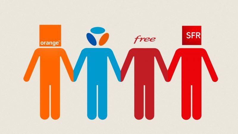 Fixe et mobile : comparatif des recrutements chez Orange, Free, SFR et Bouygues au 2ème trimestre 2018