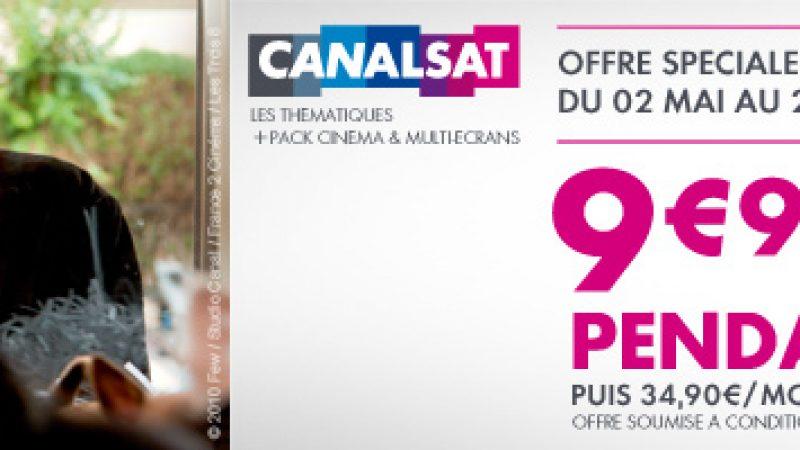 """Freebox : Offre spéciale Canalsat """"les Thématiques"""" + pack ciné à 9,99 €"""
