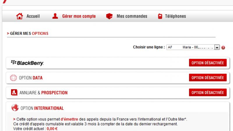 """[MàJ] Free Mobile : Un bug empêche la souscription à l'option """"International"""""""
