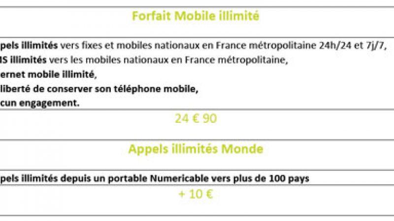 Numéricâble lance une option « monde » pour son offre mobile