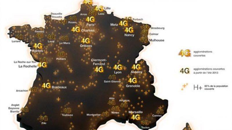 Orange annonce 19 villes supplémentaires en 4G en juin