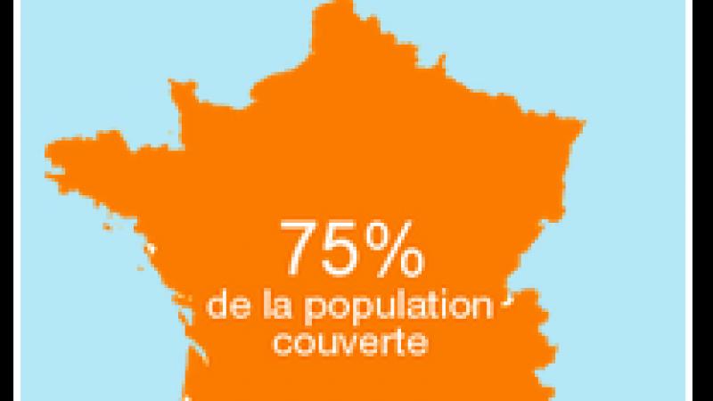 Comparatif de la couverture 3G/3G+/4G/4G+ de Free, Orange, SFR et Bouygues