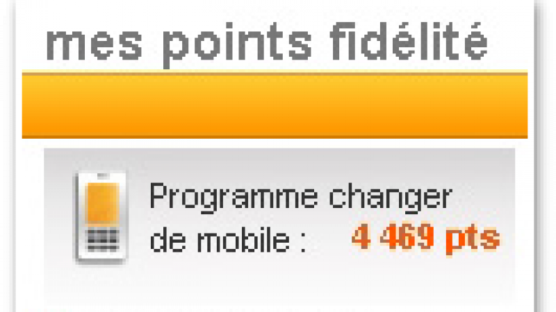Orange : Fin du système de points pour l'achat d'un mobile