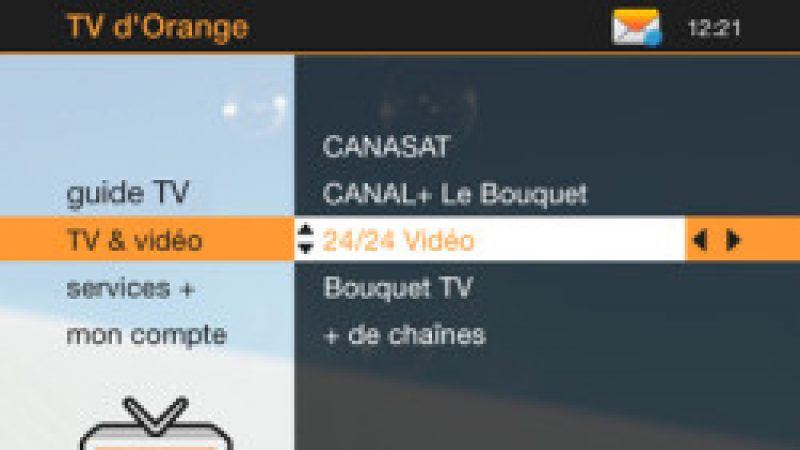 Petit lifting pour la TV d'Orange