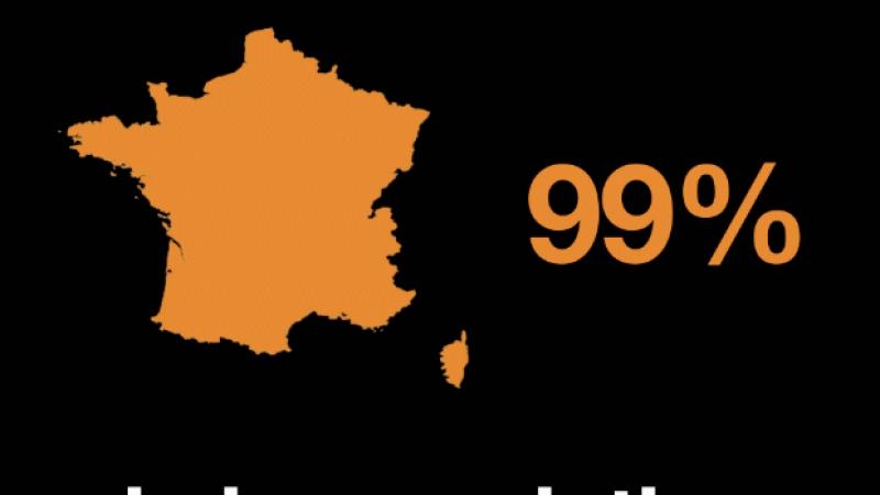 Orange annonce couvrir 99% de la population en 4G, ex aequo avec Bouygues et devant SFR