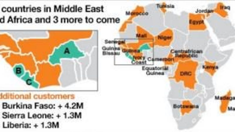 Orange s'installe dans deux nouveaux pays africains en rachetant des opérateurs locaux