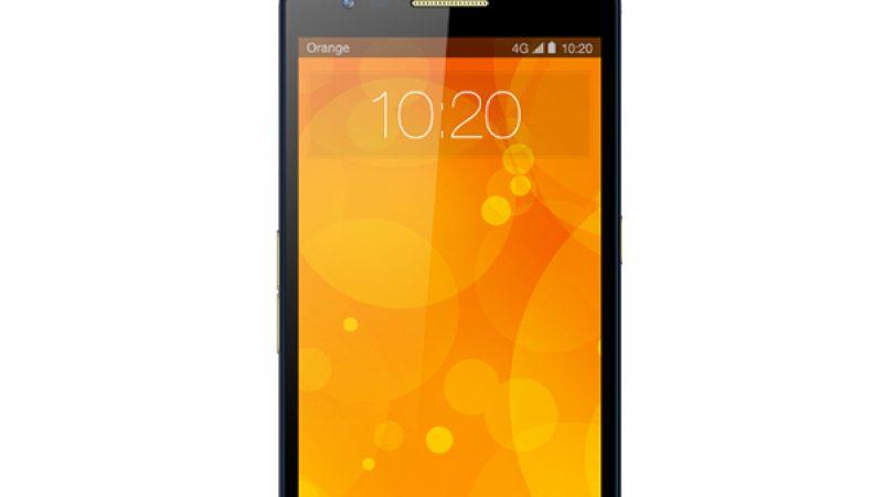 Orange lance le « Orange Fova » un smartphone 4G sous sa propre marque