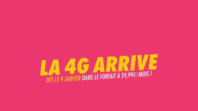 Dès janvier, Sosh proposera une offre 4G à 24,99 euros avec 5Go de data