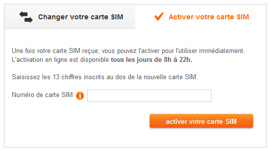 comment activer carte sim sosh Une nouvelle fonction chez Sosh pour activer la carte SIM