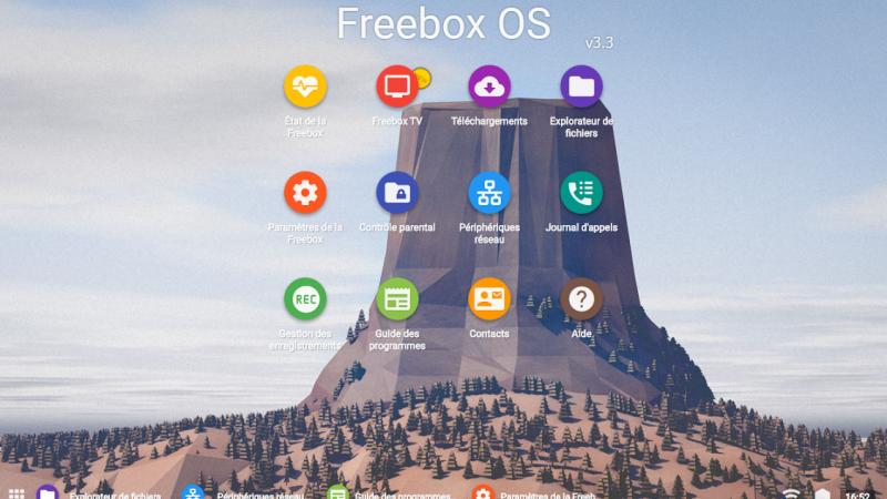 Une nouvelle interface de Freebox OS pour les utilisateurs de Chrome