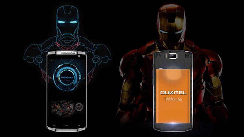 Oukitel K10000, le smartphone qui promet une autonomie de 10 à 15 jours